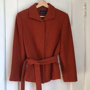Jones New York Rust Jacket